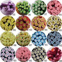 5 шт./лот 5 мм* 5 см фруктовый цветок серии полимерная глина тростника Необычные лук улыбающееся лицо цветок