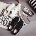 sales hot Free shipping 2017 spring new fashion women shoes casual flats canvas simple women casual shoes