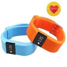 Nueva pulsera Inteligente TW64s banda Inteligente de ritmo cardíaco monitor de fitness inteligente pulsera de Alerta de Llamada para IOS android PK fitbit mi banda 2 U8