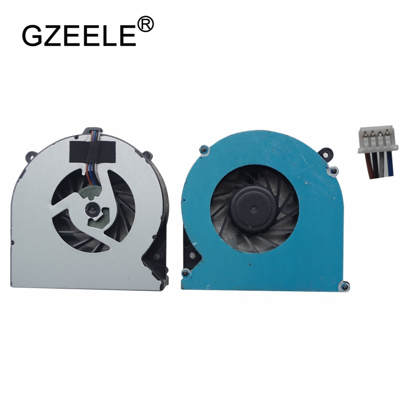 GZEELE new Laptop cpu cooling fan for HP ProBook 4535S 4730S 4530 4530S EliteBook 8450P 8460P 6460B 8470P Series 4 Wire Notebook ssea us keyboard new for hp elitebook 8410p 8460p 8460w 8470p 8470w probook 6460b 6465b 6470b 6475b without frame