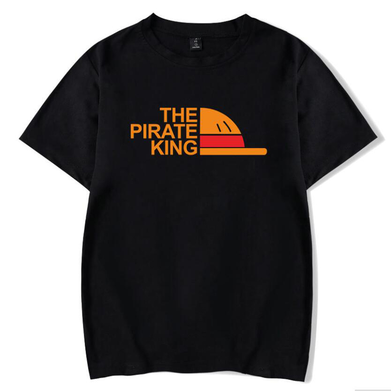 Monkey D Luffy One Piece T-Shirt Men Women The Pirate King Printed Tshirt Homme Japanese Anime Cotton Short Sleeve Funny T Shirt