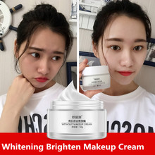 Hot Sale Natural Nude Makeup Beauty Skin Whitening Cream Face Care Acne Pimples Freckle Speckle Moisturizing Brightening Cream