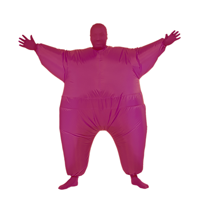 Adult Chub Suit Full Body Inflatable Costume Christmas Halloween Party Cosplay Costume Jumpsuit Blow Up Fancy Dress for Men