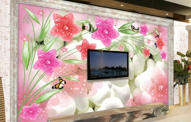3d wallpaper walls customized 3d murals wall wallpapers for living ...