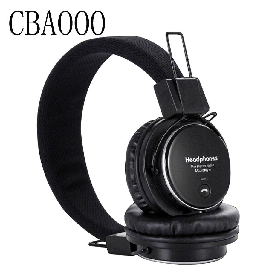 Cbaooo xk-8009s auriculares inalámbricos bluetooth con tf tarjeta de sonido esté