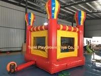 Замок надувной для детская площадка, парк джунгли надувной батут fun city/надувные прыжки замок