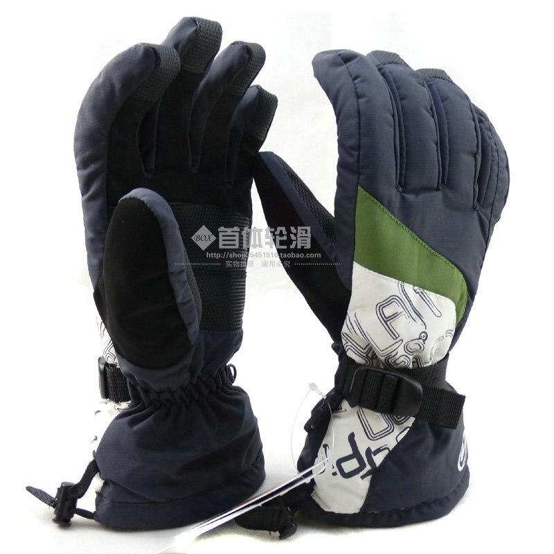 Men ski gloves - 30 cold-proof waterproof thermal gloves outdoor ride motorcycle gloves