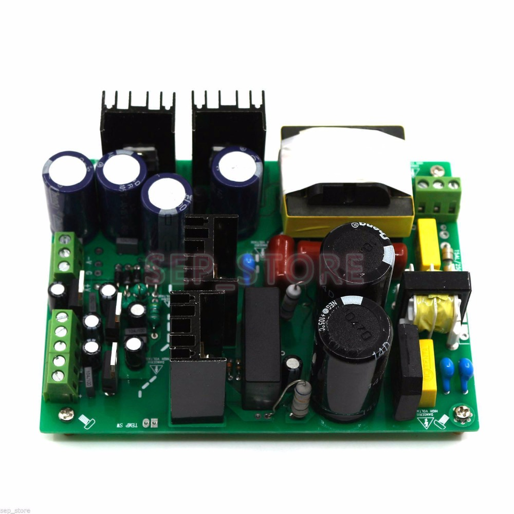 500W font b Amplifier b font Switching Power Supply Board Dual voltage PSU 30V