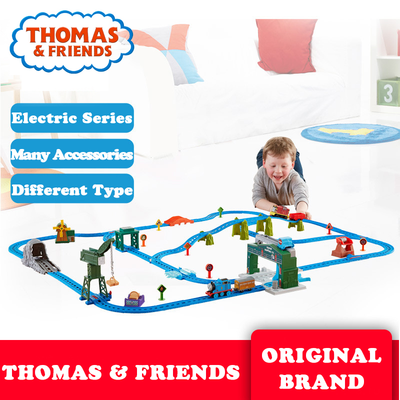 Thomas and Friends Collect Train Toy Plastic Railway Building Electric Track Car Toy Liga de brinquedo Thomas DHC80
