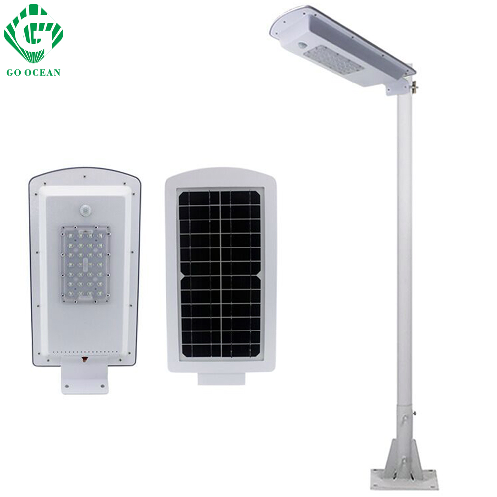 GO OCEAN Solar Lamps LED Solar Waterproof Wall Integrated LED Street Light Solar Lamp Motion Sensor Outdoor Garden Light (4)