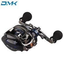 DMK Round Baitcasting Fishing Reel 12+1 BB 6.3:1 Left or Right Hand Carp Reel Olta Carretilhas De Pescaria Carretilha Pesca