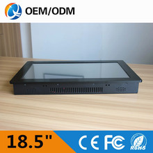18.5 inch industrial pc R232 touch screen Resolution1280x1024 embedded tablet pc industry pc with celeron C1037U 1.8GHz