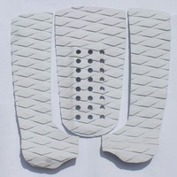 White Diamond Surfboard Traction Pad Tail Pad Deck Grip With 3M Adhesive