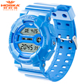 HOSKA Boys Kids Children Digital Sport Watch Alarm Date Chronograph LED Back Light Waterproof Wristwatch Student Clock Relogio