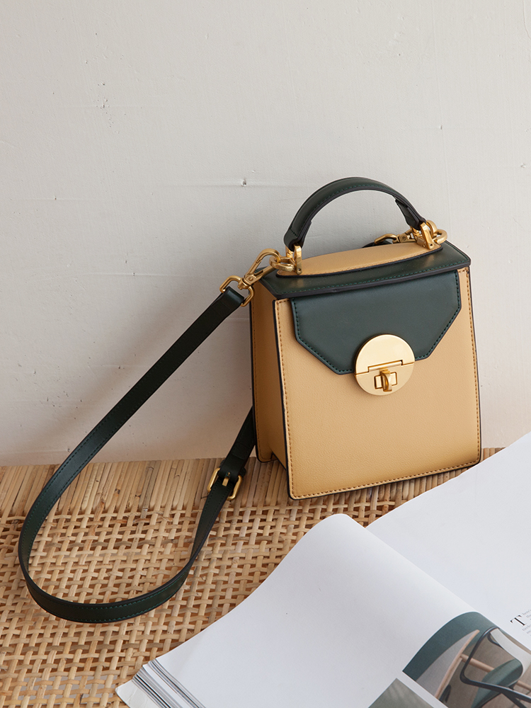 VENOF Fashion vertical flap bags split leather women small Messenger bags contrast color ladies shoulder Crossbody bags for 2019VENOF Fashion vertical flap bags split leather women small Messenger bags contrast color ladies shoulder Crossbody bags for 2019