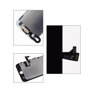 Image 4 - 10 pcs lot Complete Glass Touch Screen Digitizer & LCD Assembly Replacement For iPhone 7 7G & Front Camera Free DHL shipping