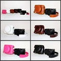 High Quality PU Leather Case Camera Bag Cover For Panasonic Lumix LX100 With Strap 5 Colors Black Coffee Brown White Pink