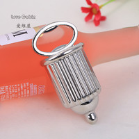Silver Baby bottle Metallic Bottle Opener 50pcs wedding Business Party birthday Christmas House Moving gift favor souvenir