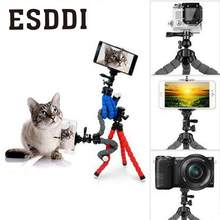 Esddi Flexible Joints Sponge Octopus Tripod Support Gripping Stand For Digital Camera Professional Photograph Tripod Accessories(China)
