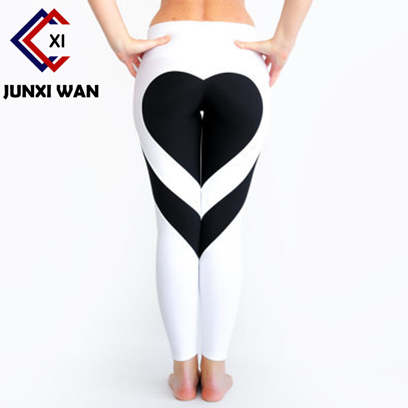 Push Up   Leggings   Women Love Printed Fitness   Legging   Leggins Legins Workout Pants jeggings plus size