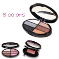 6 Colors Eye Shadow Palette set Nude Cosmetic Long Lasting Beauty Makeup Matte EyeShadow Palette Professional Maquiagem Y2