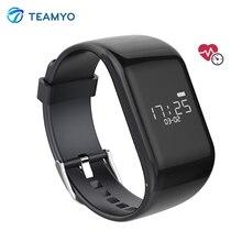 Teamyo R1 BT4.0 Smart Браслет монитор сердечного ритма SmartBand activiety фитнес трекер браслеты для IOS телефонах Android
