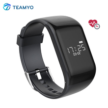 Teamyo R1 BT4.0 Smart Band Bracelet Heart Rate Monitor Smartband Activiety Fitness Tracker Wristband for IOS Android Phones