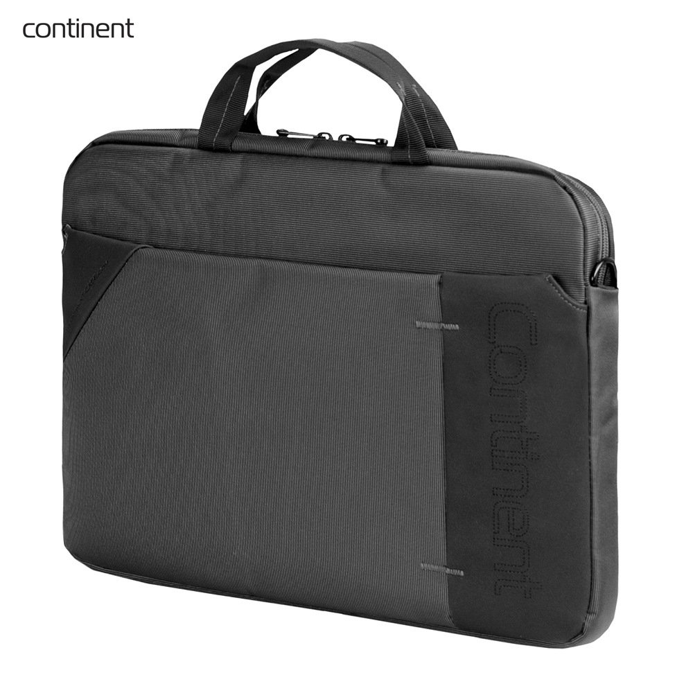 Laptop Bags & Cases Continent CONCC205GA for laptop portfolio Accessories Computer Office for male female coupon soild brown good leather zefer male handbag man laptop business office working briefcase shoulder bag metal lock letter