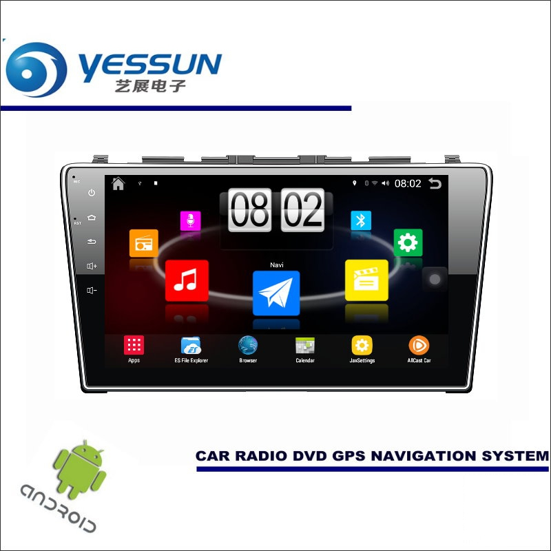 Yessun автомобиля Android мультимедийный плеер для Honda CR-V/cr V 2006 ~ 2011 Радио стерео GPS nav навигация (без CD DVD) 10 HD Экран