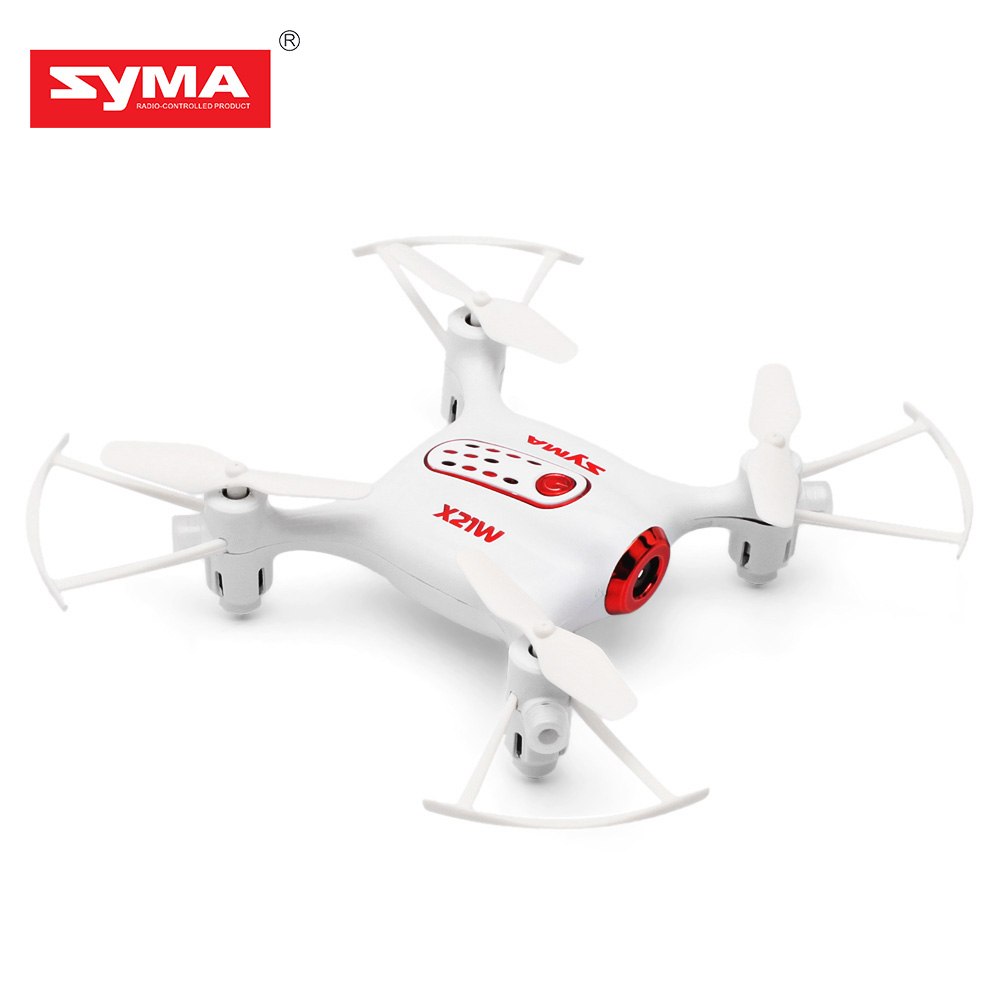 SYMA X21W Mini drone with camera WiFi FPV 720P HD 2.4GHz 4CH 6-axis RC Helicopter Altitude Hold RTF Remote Control Toys syma x14w 2 4g 4ch 6 axis gyro rc quadcopter with 702p hd camera wifi fpv remote control drone rc helicopter altitude hold