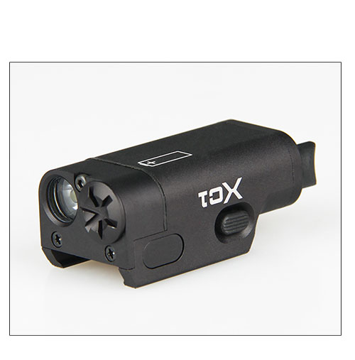 Low Profile High Lumen xc1 pistol flashlight Fit 20mm Rail Glock SF XC1 Ultra Compact Handgun M92 Light Used In GLOCK ...