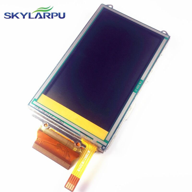 skylarpu 3 inch complete LCD For GARMIN OREGON 400 400i 400c 400t Handheld GPS LCD display screen + touch screen digitizer skylarpu 3 inch complete lcd for garmin oregon 450 450t handheld gps lcd display screen touch screen digitizer free shipping