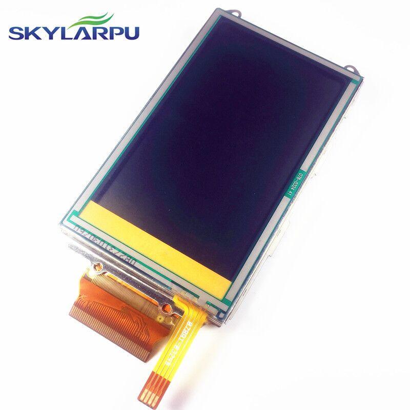 skylarpu 3 inch complete LCD For GARMIN OREGON 400 400i 400c 400t Handheld GPS LCD display screen + touch screen digitizer garmin oregon 750t