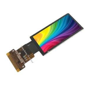 Image 1 - 0,96 zoll farbe display 13pin ST7735S LH096TIG11 highlight 0,96 zoll 80x160 dot matrix TFT LCD 0,96 zoll OLED bildschirm