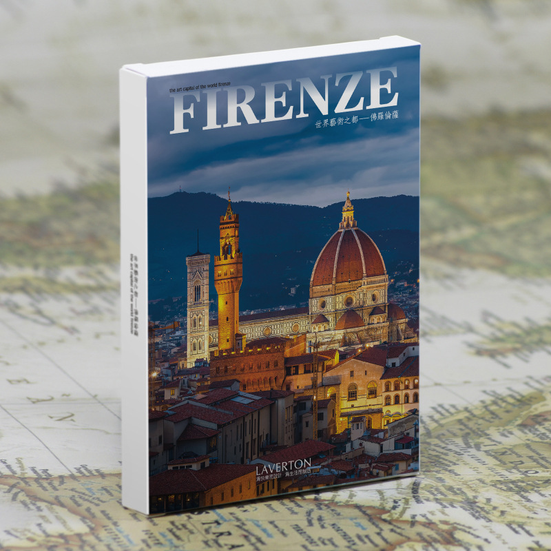 30pcs in one, Postcard,Take a walk on the go,Firenze Italy,Christmas Postcards Greeting Birthday Message Cards 10.2x14.2cm the one in a million boy