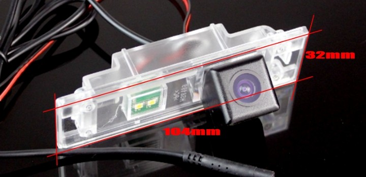 Car Camera For BMW 1 M1 F20 F21 2011~2015 High Quality Rear View Back Up Camera For Friends to Use  CCD With RCA camera size