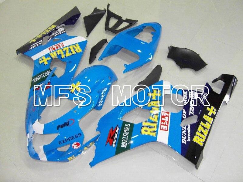 MOTORCYCLE FAIRING BODYWORK SET FOR Suzuki GSXR600/750 2004-2005 Injection BlueMOTORCYCLE FAIRING BODYWORK SET FOR Suzuki GSXR600/750 2004-2005 Injection Blue