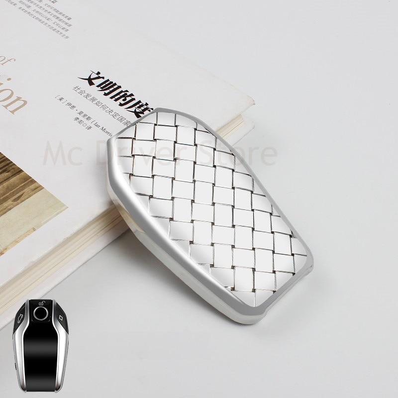 Car Key Case Key Cover Bag For BMW 7 Series 730li 5 series 530li 6 Series GT LCD screen X3 Key shell Car Styling Accessories