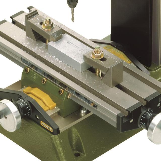 220V 100W PROXXON mini milling machine MF70 bench driller 3