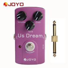 JOYO JF-34 US Dream AMP Distortion Simulation True Bypass Pedal with 1 Pedal Connector
