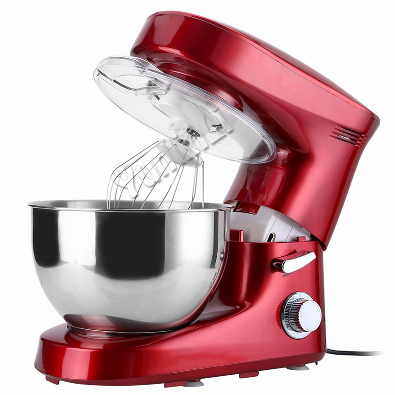 6L Automatic Dough Mixer Electric Dough Mixer Machine Stainless Knead Dough Mixing Machine Egg Beater new premium high quality stainless steel commercial dough ball making machine automatic dough divider rounder for small business