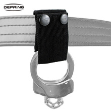 Quick Release Handcuff Strap Holder Holster Dual Safety Snap Closure Fits up to 2 inch Duty Belt