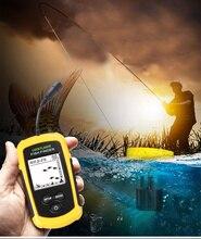 Портативный эхолот findfish с проводным эхолотом Sonar и ЖК-дисплеем AA батарея Fishfinder