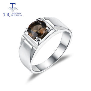 Ring Wedding-Bands 925-Sterling-Silver Gifts Fine-Jewelry TBJ Men for Boyfriend Sand-Blasting