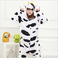 Special Offer Women S Cow Cosplay Animal Animals Costume Adult Woman Full Sleeve Polyester Sleep Lounge