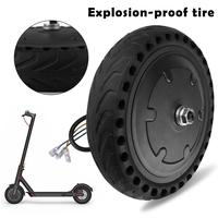 Solid Electric Scooter Tire Shock Absorption Tires For Xiaomi Mi Electric Tire 8.5 Inches Honeycomb Wheel NPT Accessories Tools