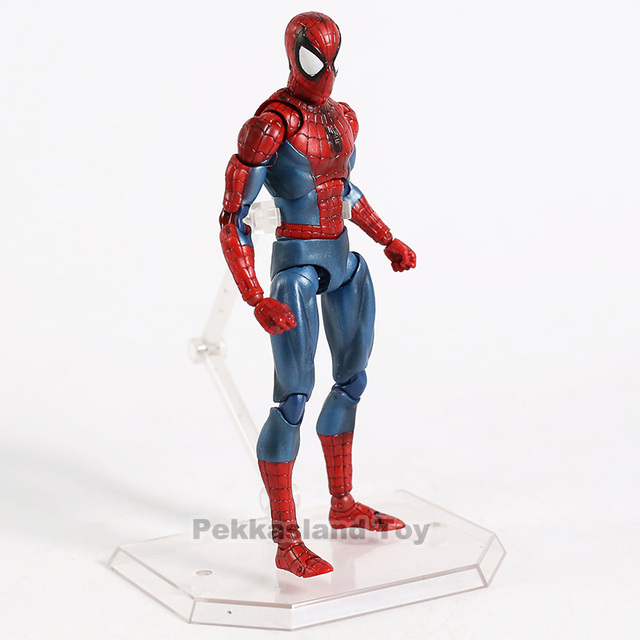 Marvel Mafex 075 vengadores Spiderman MAF075 el increíble Spider-Man PVC figura de acción coleccionable modelo niños juguetes regalo 2