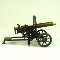 Escalado Maxim Machine Gun Modelo Fundido a Primeira Guerra Mundial Novidade Decoração Ornamento Do Ofício para a Coleção de Arte e do Presente Da Lembrança
