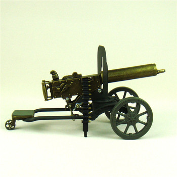 Scaled Maxim Machine Gun Diecast Model the First World War Novelty Decor Craft Ornament for Art Collection and Souvenir Gift