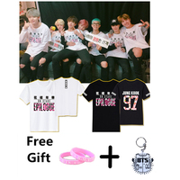 KPOP BTS Bangtan Boys O Neck Jimin Jin V Jhope Jung Kook Rap Monster Cotton Summer